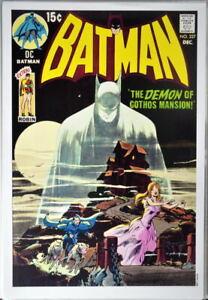 BATMAN #227 Cover PRINT Neal Adams art