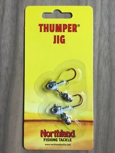 Northland Fishing Tackle - Thumper® Jig - 1/16 oz. - Multiple Color Options