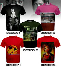 The Last of Us: Left Behind Custom T-SHIRT / JERSEY - PlayStation game theme