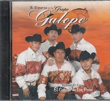 B. Esparza y su Grupo Galope Por Que Fue Asi CD New Sealed