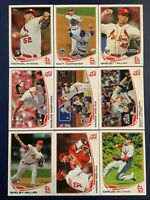 2013 Topps ST. LOUIS CARDINALS Complete Team Set w Update (37) Sharp LOOK !