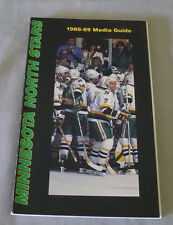 Original NHL Minnesota North Stars 1988-89 Official Hockey Media Guide