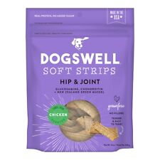 Dogswell Soft Strips Hip and Joint Support Chicken Flavor Dog Treats 12 ounces