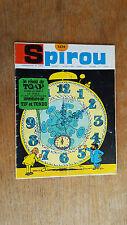 SPIROU N°1474 DU 14 JUILLET 1966 / AVEC MINI RECIT PAR ROSY ET DELIEGE / B.