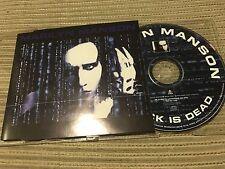 MARILYN MANSON - ROCK IS DEAD CD SINGLE 1 TRACK PROMO GERMANY MATRIX OST