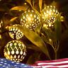 30LEDs LED Patio Lights Moroccan Ball Lantern Fairy Light Waterproof String
