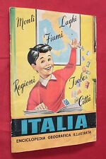 Album ITALIA ENCICLOPEDIA ILLUSTRATA LA FOLGORE - COMPLETO