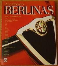ALFA ROMEO - Berlinas (Saloons/Sedans) - John Tipler - 2000 Veloce hardback book