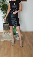 Stunning River Island Foux Leather Dress UK12