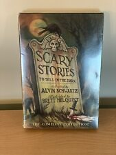 Scary Stories to Tell in the Dark 3 Book Set Alvin Schwartz Movie NEW COVERS!!