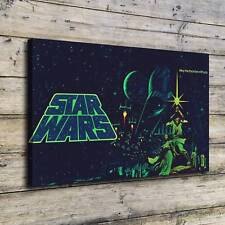 SR101226-Star wars c3po darth vader Home Decor HD Canvas Print Wall Art Painting