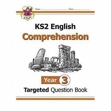 Year 3, CGP KS2 English Comprehension Targeted Question Book One 9781782944485