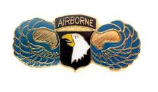 101st  Airborne Division Screaming Eagle US Army Lapel Hat Pin Military PPM044