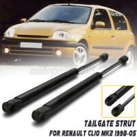 2x Tailgate Rear Boot Gas Struts Springs for Renault Clio MK II 98-05