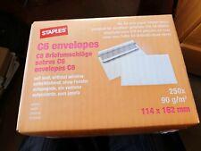 C6 Plain White Envelopes - 90gsm