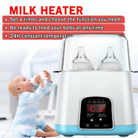 5in1 Baby Bottle Warmer Steam Sterilizer Food Breast Milk Feeding Heater Remote