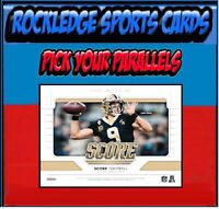 2019 Score Football Parallels 1-440 (Pick Your Cards)