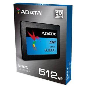 """Adata 512GB SSD SU800 2.5"""" SATA 6Gb/s Read 560Mb/s NAND 3D TLC ASU800SS-512GT-C"""