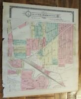 Antique MAP-PART 4 OF THE CITY OF KALAMAZOO & ENVIRONS, Michigan/Ogle & Co. 1910
