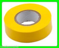 Yellow PVC Tape [TM303] 19mm x 20m Flame Retardant