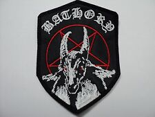 BATHORY SHIELD      EMBROIDERED  PATCH