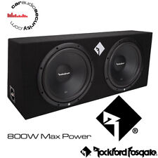 "Rockford Fosgate Punch Series - R1-2X12 Dual R1 12"" Loaded Enclosure 800 Watt"