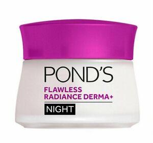 PONDS 50g NIGHT CREAM FLAWLESS RADIANCE DERMA+