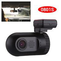 Mini 0801S HD 1080P Vehicle Car Security Dash Cam GPS Crash Camera DVR S0H