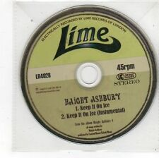 (FS641) Haight Ashbury, Keep It On Ice - 2014 DJ CD