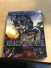 Transformers: Revenge of the Fallen (Blu-ray Disc, 2009, 2-Disc Set, Special...