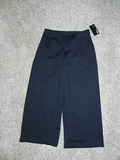Fila Athletic Pants Black XS Loose Fit Capri Womens Inseam 20 NWT $55
