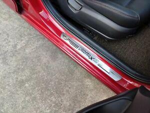 For Kia Picanto X-Line Car Accessories Door Sill Protector Scuff Plate Sticker