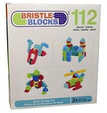 NEW Original Bristle Blocks 112-Piece Basic Building Set By Battat