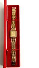 Rare Vintage Seiko Men Watch Gold colour retro Japan 5Y31 5660 R jewellery gift