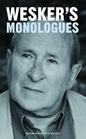 NEW Wesker's Monologues (Oberon Modern Playwrights) by Arnold Wesker