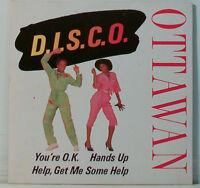 D.I.S.C.O. YOU'RE O.K. - OTTAWAN  -   MAXI CD (O166)