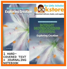 NEW ~APOLOGIA EXPLORING CREATION BOTANY TEXT + NOTEBOOKING JOURNAL COMPLETE SET