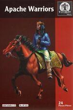 WATERLOO 1815 AP051 APACHE guerrieri. SCALA 1/72 x 12 Figure montato. APACHES