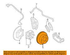GM OEM Front Brake-Disc Rotor 15733625