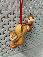 More details for disney sketchbook 2012 chip 'n dale on peanut hanging ornament rare htf