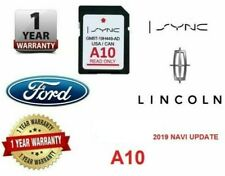 Lincoln MKS MKT MKX MKZ Navigator A10 SYNC SD Card Navigation 2019 USA Canada