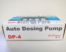 Jebao Auto Bomba Dosificadora Dp-4 Acuario Arrecife Marino de dosis de