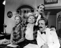 Fawlty Towers (TV) Cast, Prunella Scales, John Cleese 10x8 Photo