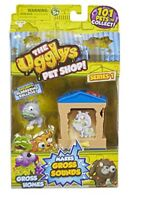 The Ugglys Pet Shop Exclusive Blubbering Bulldog Series1 NEW Toy Gift Idea