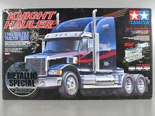"Rare New Open Box 1/14 RC Tamiya Knight Hauler ""Metallic Chrome Special Edition"""
