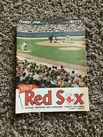 1967 BOSTON RED SOX OFFICIAL PROGRAM 1967