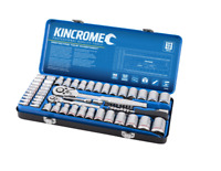 "Kincrome 69 Piece 1/4"" and 1/2"" Drive Metric and Imperial Socket Set"