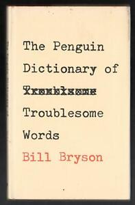 The Penguin Dictionary of Troublesome Words, Bill Bryson, Guild Hardcover, 1984