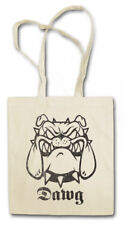 DAWG SHOPPER SHOPPING BAG Dog you won't get out fight combat attack Chain Bull