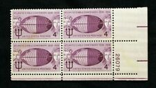 US Plate Blocks Stamps #1112 ~ 1958 ATLANTIC CABLE CENTENARY 4c Plate Block MNH